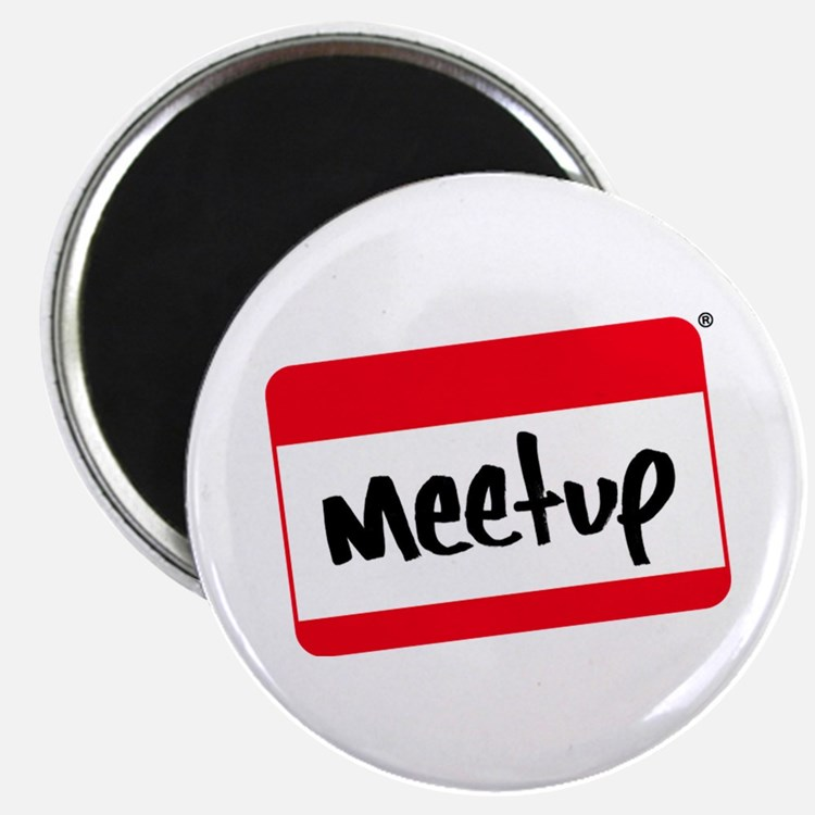 "Meet-up Promos 2.25"" Magnet (10 pack)"