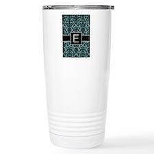 Monogram Letter E Gifts Travel Mug
