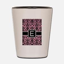 Monogram Letter E Gifts Shot Glass