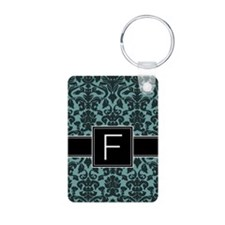 Monogram Letter F Gifts Keychains