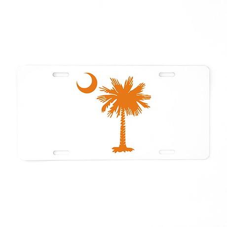 SC Palmetto & Crescent (O) Aluminum License Plate