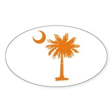 SC Palmetto & Crescent (O) Decal