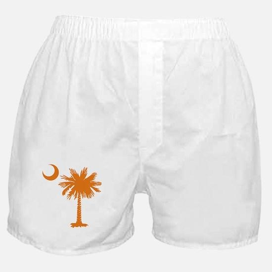 SC Palmetto & Crescent (O) Boxer Shorts