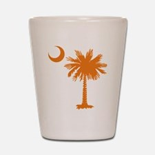SC Palmetto & Crescent (O) Shot Glass