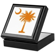 SC Palmetto & Crescent (O) Keepsake Box