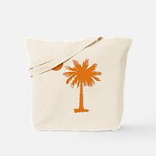 SC Palmetto & Crescent (O) Tote Bag