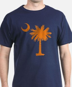 SC Palmetto & Crescent (O) T-Shirt