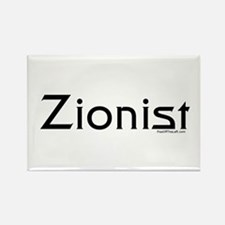 Zionist Rectangle Magnet
