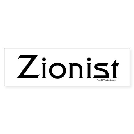 Zionist Bumper Sticker