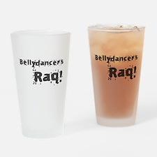 Bellydancers RAQ! Drinking Glass