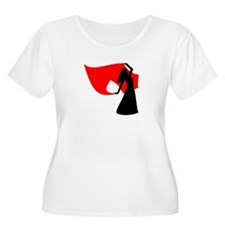 Red Veil Dancer T-Shirt