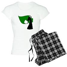 Green Veil Dancer Pajamas