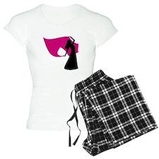 Rose Pink Veil Dancer Pajamas