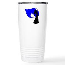 Blue Veil Dancer Travel Coffee Mug