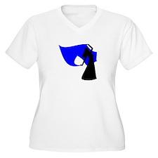 Blue Veil Dancer T-Shirt
