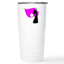 Pink Veil Dancer Travel Mug