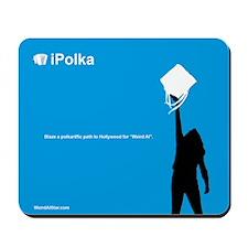 iPolka Parody Mousepad (Blue Version)
