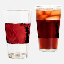Rose Belly Dancer Drinking Glass