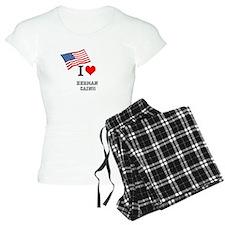 I HEART CAIN pajamas