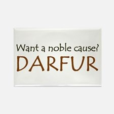 DARFUR: The Noble Cause Rectangle Magnet