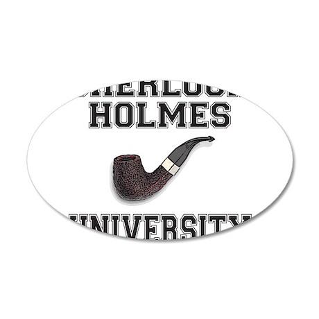 SHERLOCK HOLMES 38.5 x 24.5 Oval Wall Peel