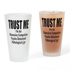 LIAR Drinking Glass