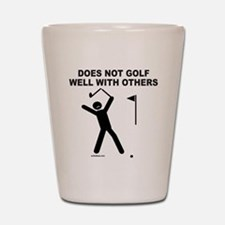 GOLF HUMOR Shot Glass
