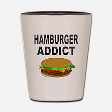 HAMBURGER ADDICT Shot Glass