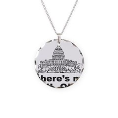 CONGRESS/BAIL OUT Necklace