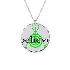 ALIEN CROP CIRCLE Necklace