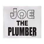 JOE THE PLUMBER Throw Blanket