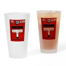 FIRE ALARM Drinking Glass