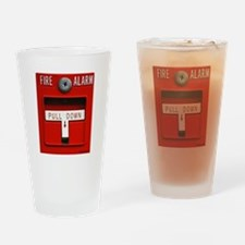FIRE ALARM Drinking Glass