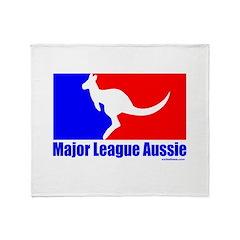 MAJOR LEAGUE AUSSIE Throw Blanket