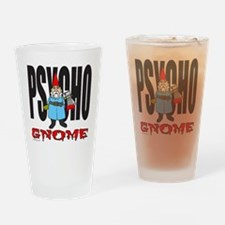 PSYCHO GNOME Drinking Glass