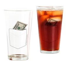CASH MONEY Drinking Glass