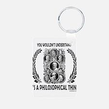 PHILOSOPHY Keychains