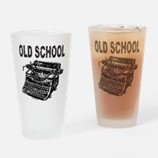 OLD SCHOOL TYPEWRITER Drinking Glass