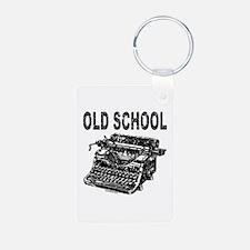 OLD SCHOOL TYPEWRITER Keychains
