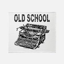 OLD SCHOOL TYPEWRITER Throw Blanket