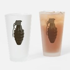 HAND GRENADE Drinking Glass