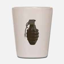 HAND GRENADE Shot Glass