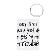 TROUBLE Keychains