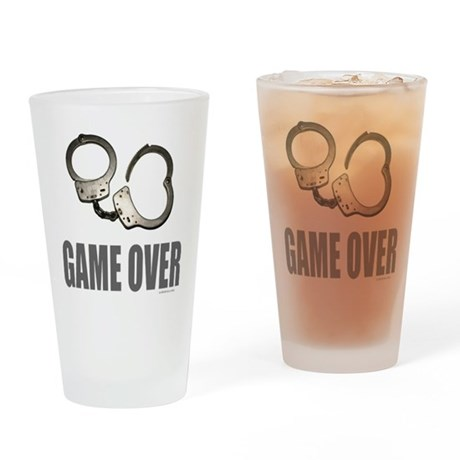 HANDCUFFS/POLICE Drinking Glass