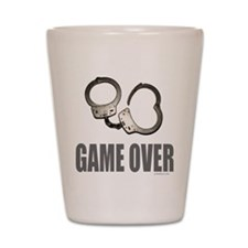HANDCUFFS/POLICE Shot Glass