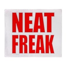 NEAT FREAK Throw Blanket