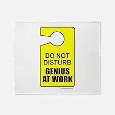 GENIUS AT WORK Throw Blanket
