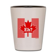 CANADIAN Shot Glass