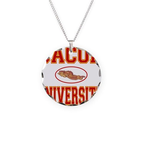 BACON/PORK Necklace Circle Charm
