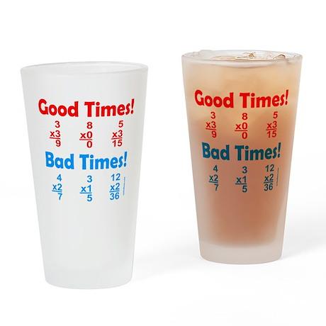 MATH/MATHEMATICS Drinking Glass